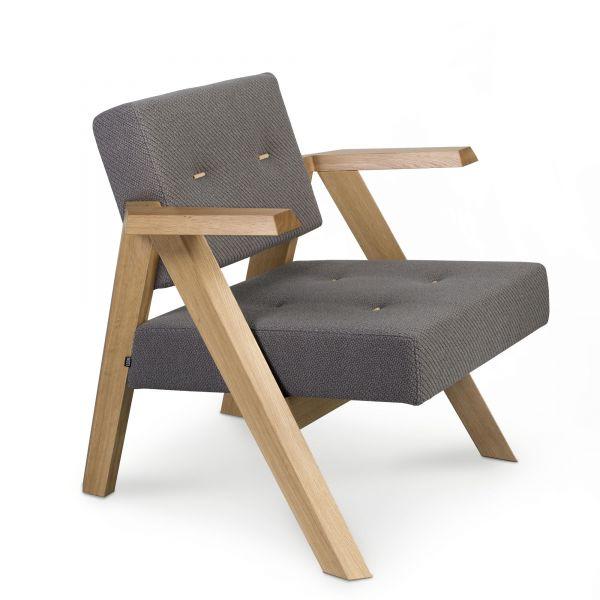 Noti CLAPP Loungesessel mit und ohne Knöpfe
