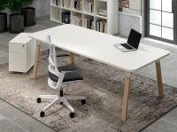 IDO Designer Schreibtisch Eiche Gestell