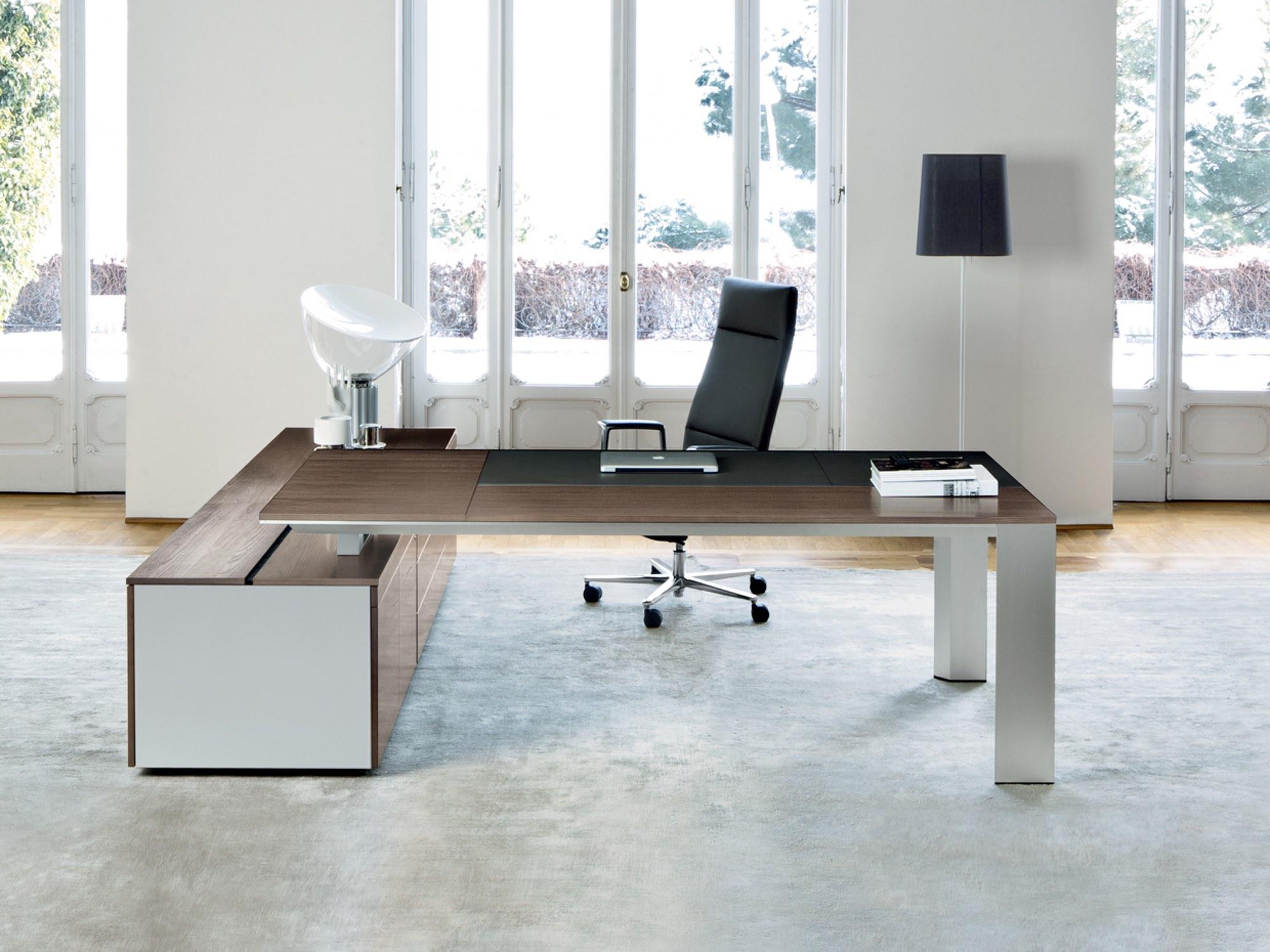 frezza ono schreibtisch mit sideboard lang eckschreibtische arbeitsplatz b rotische alle. Black Bedroom Furniture Sets. Home Design Ideas