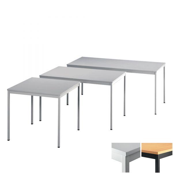Konferenztisch X-Serie Tischsystem mit Metallrahmen