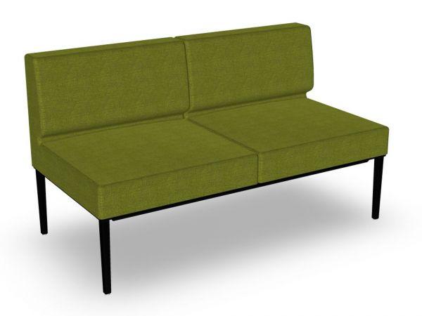 Actiu LONGO NOMADA LG22 2-Sitzer Sofa ohne Armlehnen