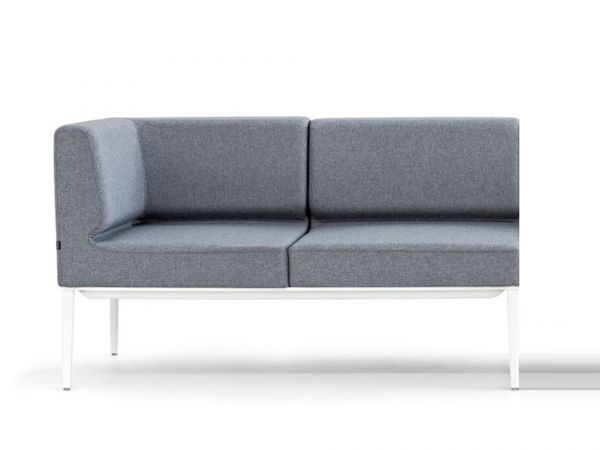 Actiu LONGO NOMADA LG23 2-Sitzer Sofa mit Armlehnen einseitig