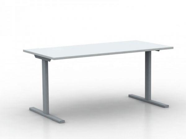 Schreibtisch UP-FIX in 140/160x80 cm mit T-Fuss