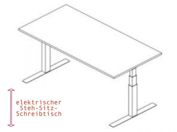 Steh-Sitz-Schreibtisch günstig bestellen