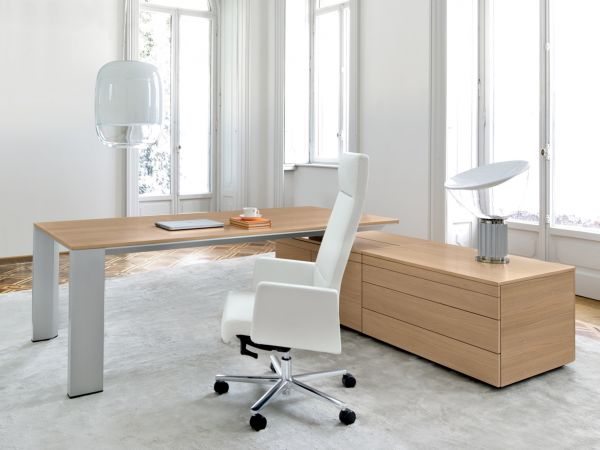 Frezza ONO Schreibtisch mit Sideboard kurz