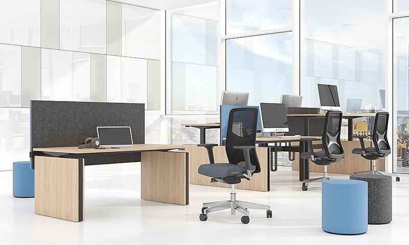Gabler Büromöbel Schreibtisch Move elektrisch