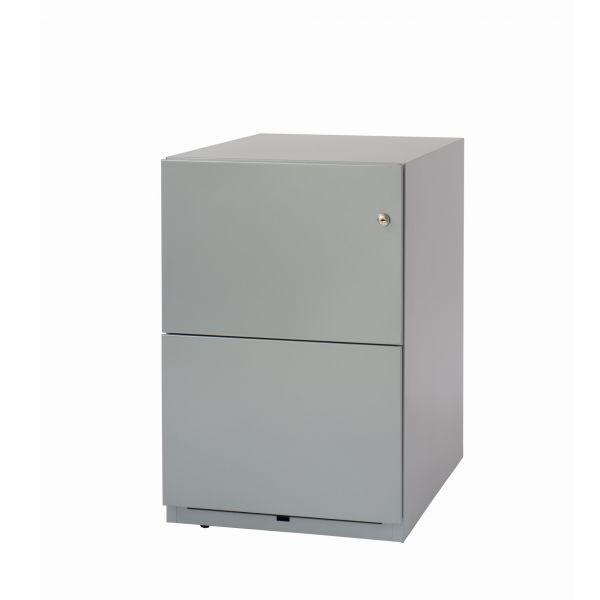 Bisley Note Rollcontainer mit 2 Hängeregisterschubladen in 65x42x57 (HxBxT)