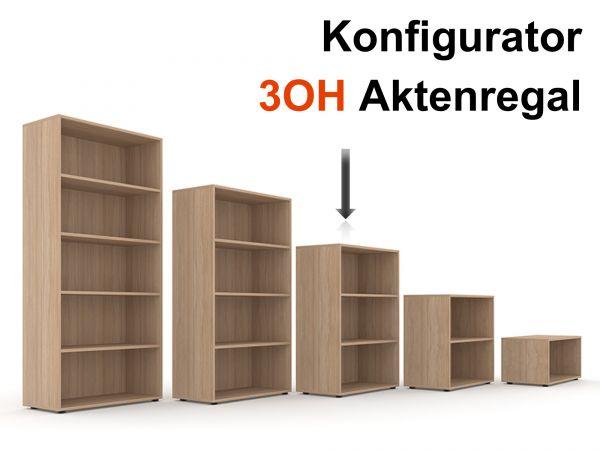 Aktenregal Selection 3OH - Konfigurator