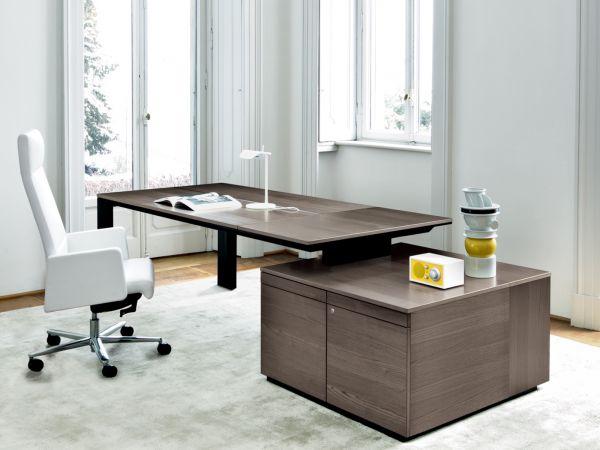 Frezza ONO Luxus-Schreibtisch mit Container groß