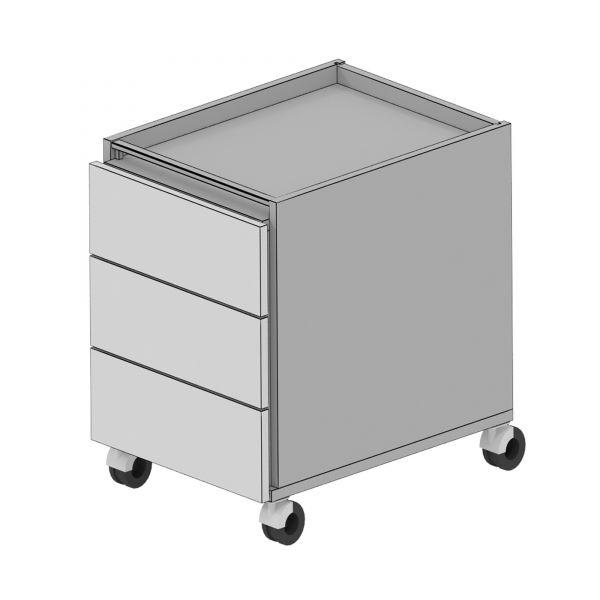 Balma Plus K2-41-M Rollcontainer mit 3 x Schublade