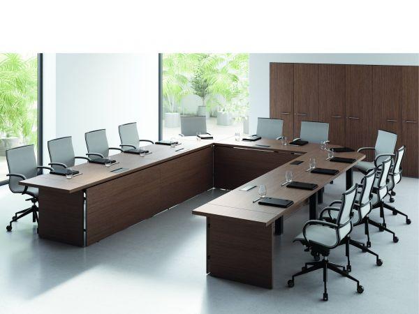 frezza Asset Konferenztisch 320x425 cm in U-Form Variante 2