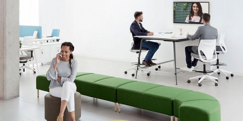 attraktive Büromöbel für Kreativität