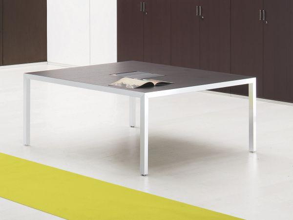 Archiutti Fattore Alpha Konferenztisch quadratisch 160 oder 200 cm