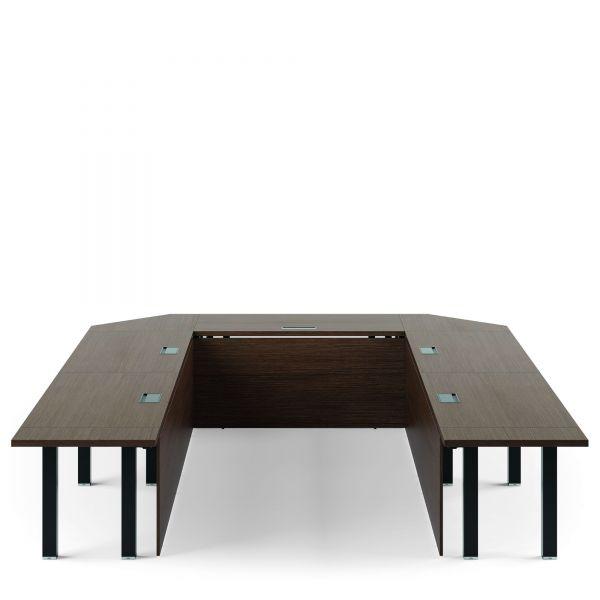 frezza Asset Konferenztisch 320x425 cm in U-Form Variante 1