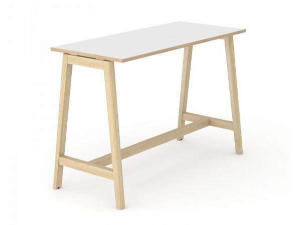 Stehtisch Simple Wood mit Tischplatte in Melamin