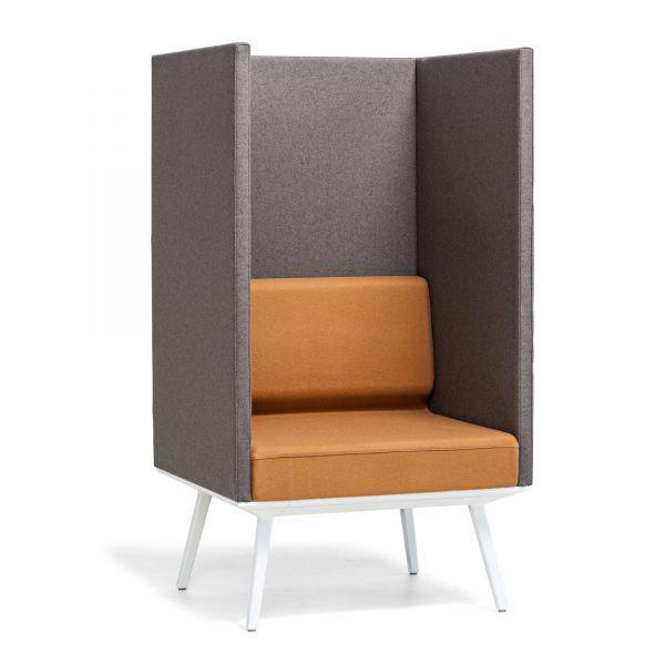 Actiu LONGO POD LN1 Sessel mit hohem Rücken