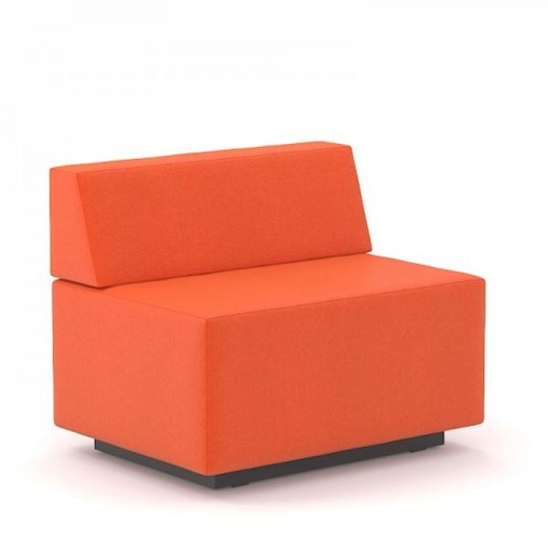 Gabler Büromöbel SEOUL Chill-Out 2-Sitzer mit Rückenlehne